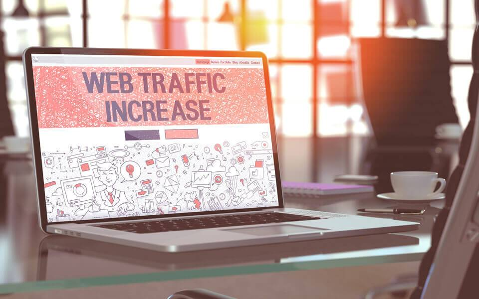 Increase Web Traffic - SEO Toronto