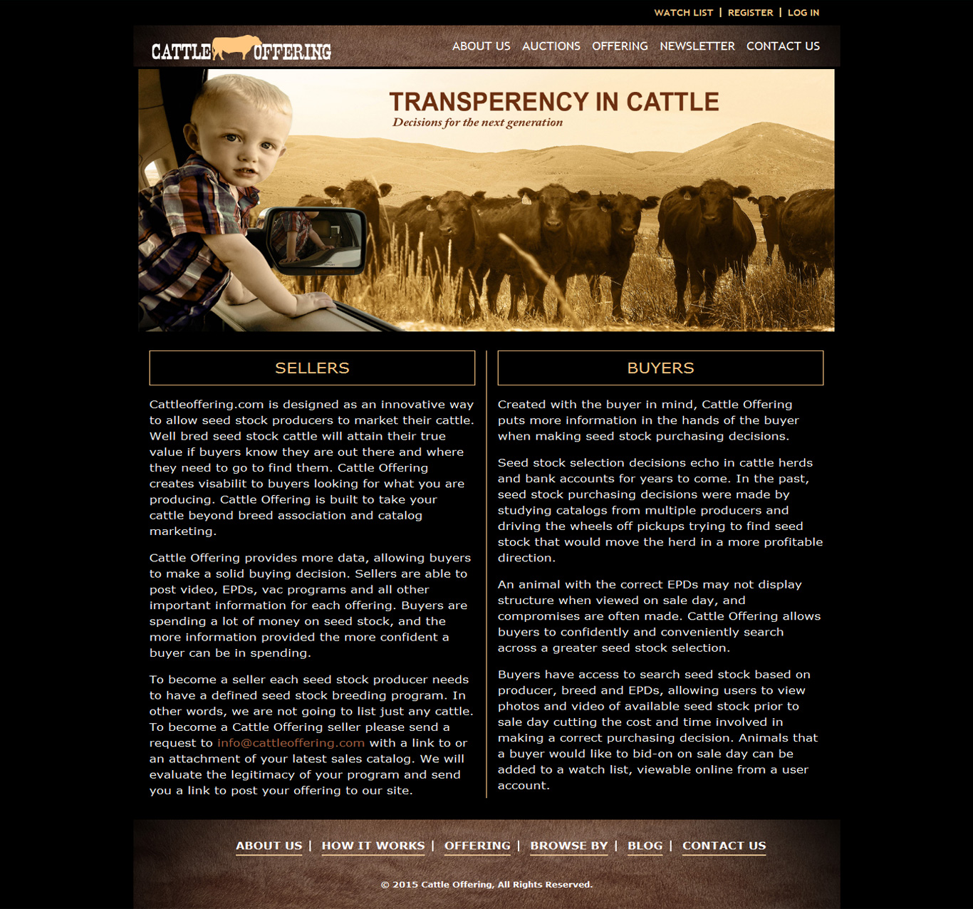 Cattle Offering - Portfolio