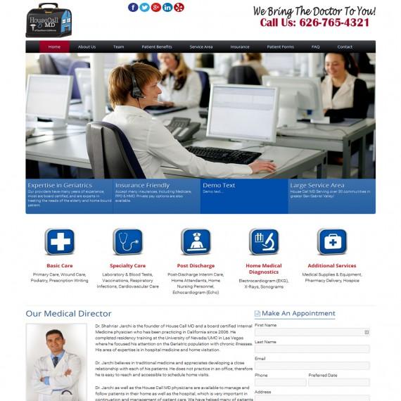 Portfolio Image 2 - Housecall MD