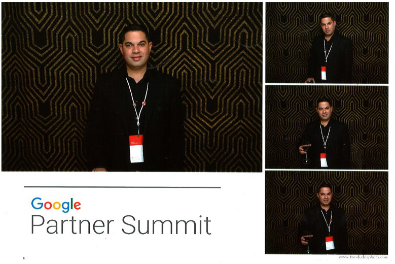 Silly times at the Photo Booth with Eran and Google reps!