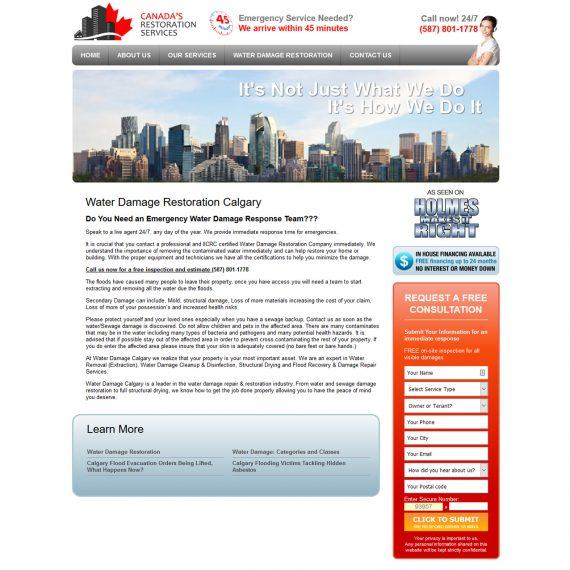 Portfolio Image 2 - Water Damage Calgary