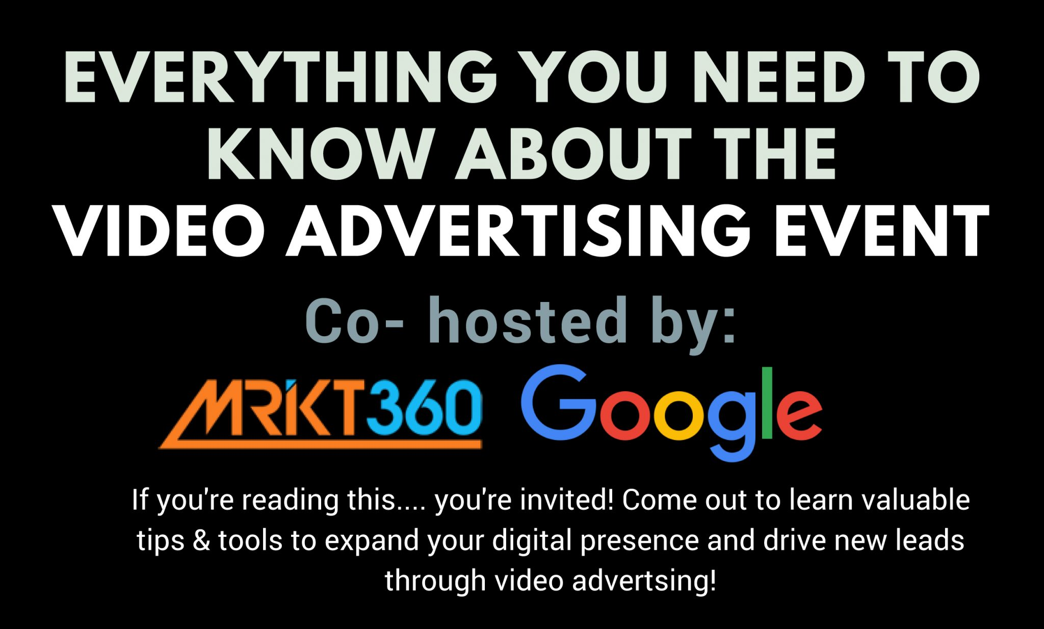 Google Partner Connect Video Advertising Event