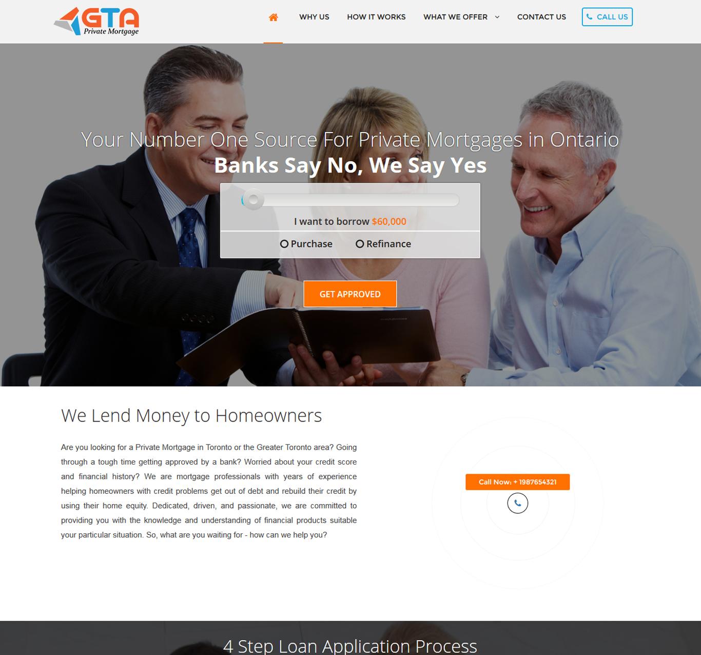 GTA Private Mortgage Portfolio