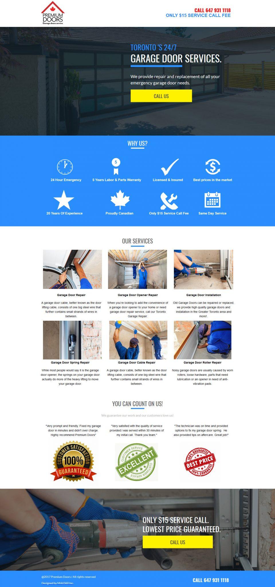 Garage Door Repair Portfolio