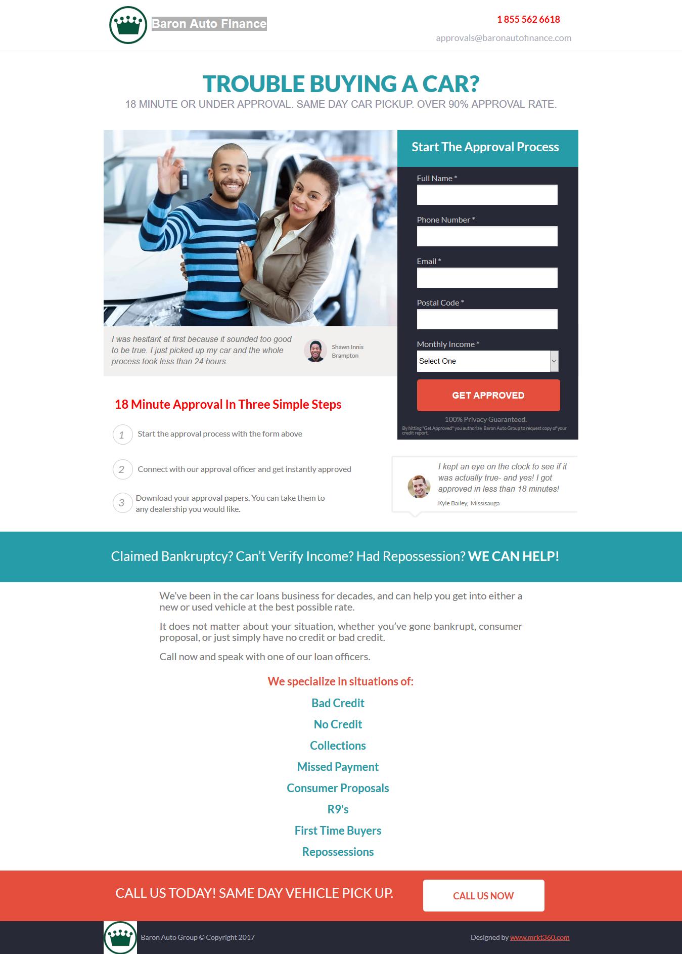 Baron Auto Finance Portfolio